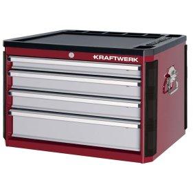 Kraftwerk 3905 Hightech Werkzeugkoffer mit 4 Schubladen