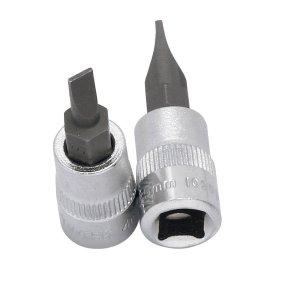 Kraftwerk 102040 1/4 Zoll Schlitz-Bit-Stecknuss 4mm
