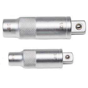 WHB Tools 4258 Stecknuss-Adapter-Satz 1/4x3/8 und 3/8x1/2...