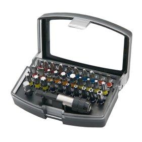 WHB Tools 3089 Farb-Bit-Box/Bitsatz 1/4 Zoll 32-teilig