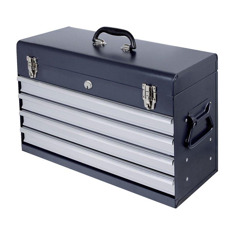 kraftwerk 1046e werkzeugkoffer mit 4 schubladen leer 128 52. Black Bedroom Furniture Sets. Home Design Ideas