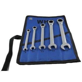 WHB-Tools 4400-05 Ring-Ratschenschlüssel-Satz 5-tlg. mit...