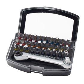WHB Tools 3094 Farb-Bit-Box/Bitsatz 1/4 32-tlg. inkl....