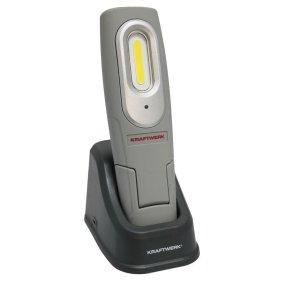 Kraftwerk 32032SET COB-LED-Akku-Handlampe mit Tisch-...