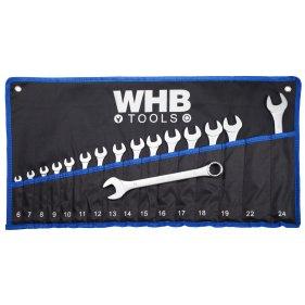 WHB Tools 2616 Ring-Maulschlüssel-Satz 16-tlg. 6-24mm in...