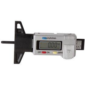Kraftwerk 31009 Kfz-Reifenprofilmesser mit LCD-Display