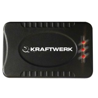 Kraftwerk 32061 Alu-LED-Stirnlampe 3W Cree LED mit Zoom