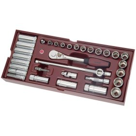 Kraftwerk 4900-02B Completo Steckschlüssel-Einlegeschale...