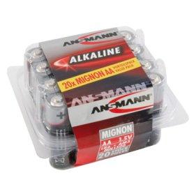 Ansmann Alkaline Mignon-Batterie AA im 20er Sparpack