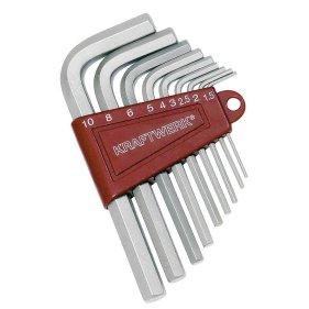 Kraftwerk 3601 Sechskant-Stiftschlüssel-Satz 9-teilig