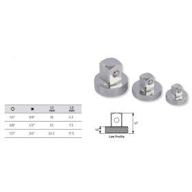 Kraftwerk 123003 Vergrößerungs-Adapter-Satz 1/4 3/8...