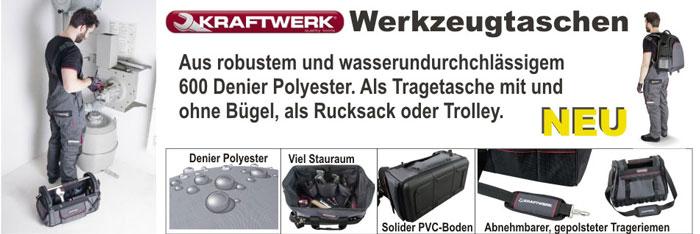 Werkzeugtaschen von Kraftwerk