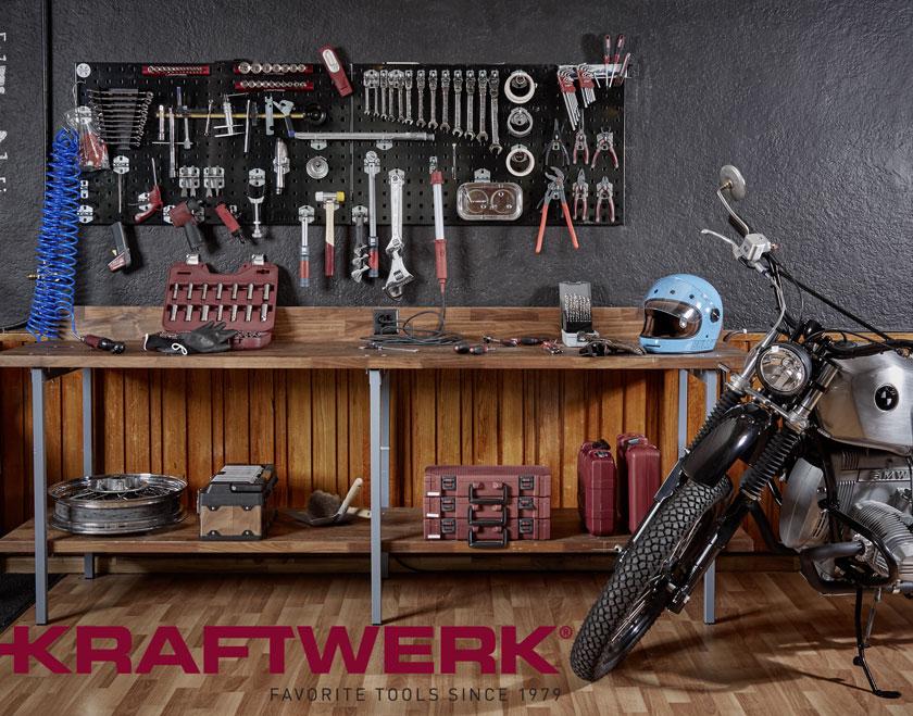Kraftwerk Werkzeuge