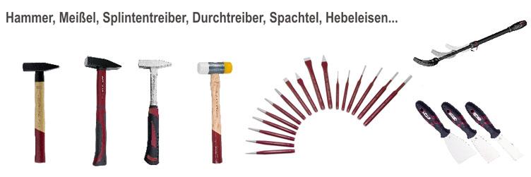 Hammer in verschieden Größen und Ausführungen