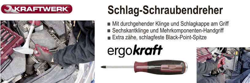 Schlag-Schraubendreher von KRAFTWERK®