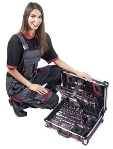 Profi-Allround-Werkzeugkoffer ALUPRO von KRAFTWERK®
