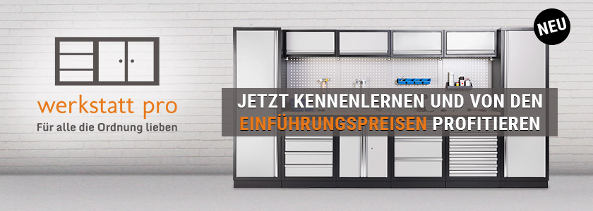 Werkstatt-Schrankwand Werkstatt Pro im Online-Shop buy-direct.de