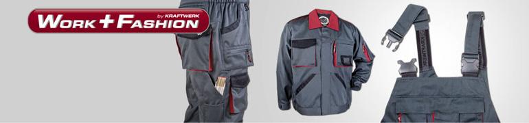 WorkFashion die Arbeitskleidung von KRAFTWERK®
