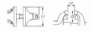 Parallel-Schraubstock 200 mm aus Stahl, Kraftwerk 2964