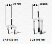 12-teiliger Trennmesser-Abzieher-Satz im Koffer, Kraftwerk 30402