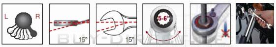 Reversible Clickraft Ratschenschlüssel-Satz 12-tlg. im Koffer, Kraftwerk 3404-54