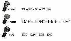 Kraftwerk 3501-58R COMBI Ring-Maulschlüssel-Satz 4-teilig in Rolltasche
