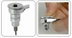Kraftwerk 3691 Stecknuss-und Bit-Adapter 1/4