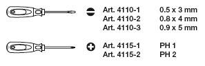 Kraftwerk 4162 ergokraft Schraubendreher-Satz PH 5-teilig