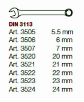 Kraftwerk 4900-14B Completo Ring-Maulschlüssel Einlegeschale 8-tlg.