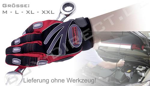Kraftwerk 7901 Mechaniker-Handschuhe - Größe M bis XXL